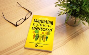 """Lançamento do livro """"Marketing político e eleitoral: estratégias para campanhas vitoriosas""""."""